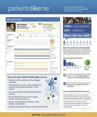 Leaflet for Parents of Children with ASD (Click for a Full-size, Printable Version.)
