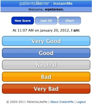 Feeling Good in the Grocery Store?  Take the InstantMe Survey on your iPhone!