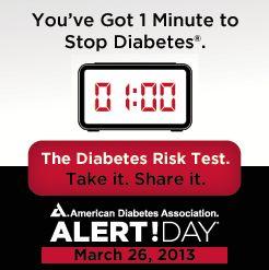 National Diabetes Alert Day 2