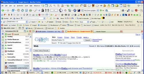 Firefox verrückt