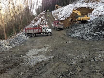 GRSM-Newfound Gap Roadwork NPS 430