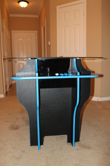 Cocktail Arcade Cabinet Build Part 10  The Finished