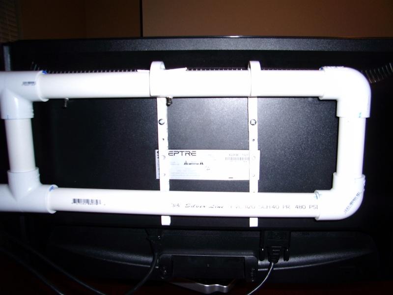 Do It Yourself Dual LCD Monitor Stand  Patsheadcom Blog