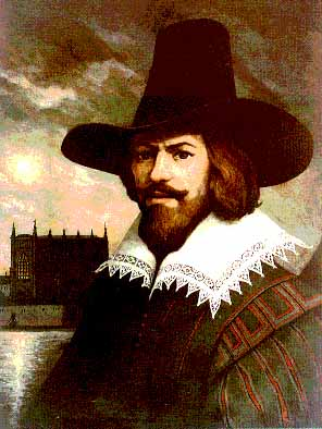 Retrato de Guy Fawkes