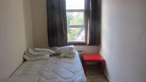 Última visão do meu quarto, antes de abandoná-lo para sempre, em setembro de 2012.