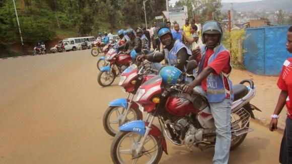 Exército de motocas de Kigali
