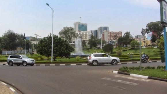 O belo novo centro comercial de Ruanda
