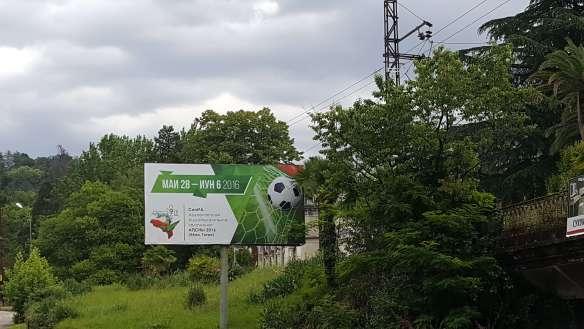 outdoor em Sukhumi anuncia o evento