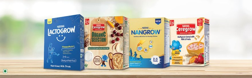 Nestle baby nutrition products