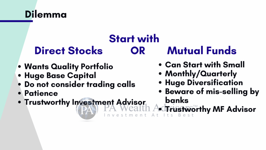 Stock markets guidance by PA Wealth Advisors