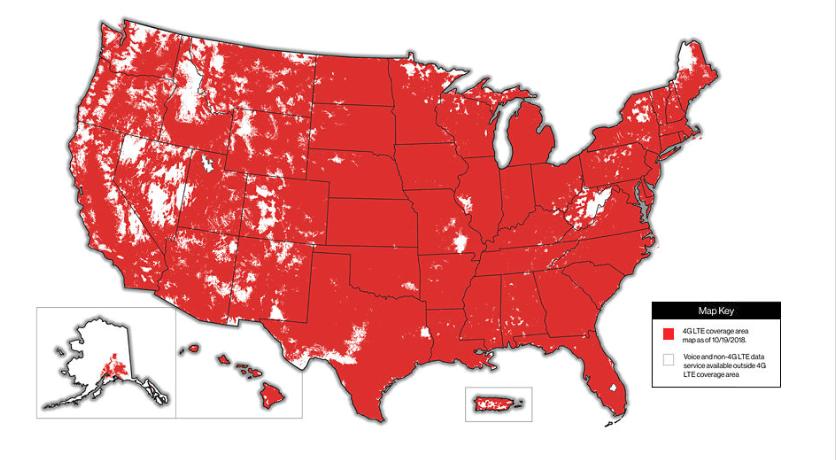 Verizon Us Coverage