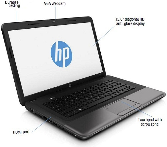 Laptop HP 650