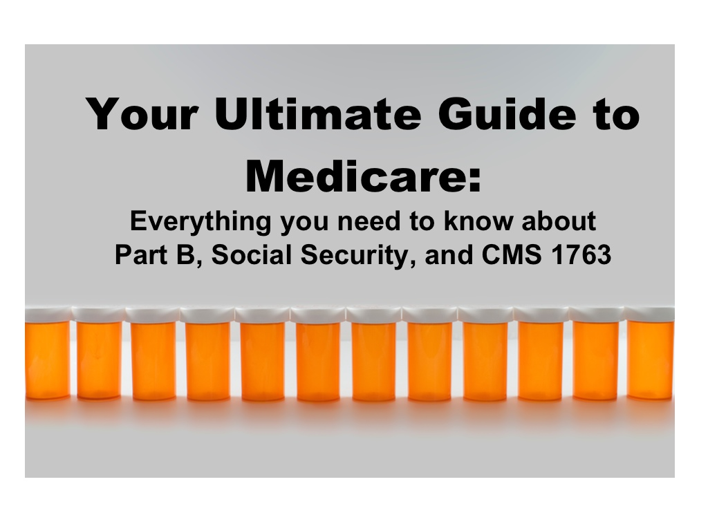 Medicare Social Security and Form CMS 1763  PDFfiller Blog