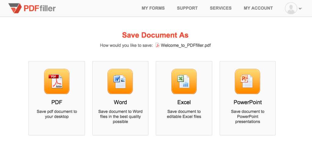 Save a PDF to DOC