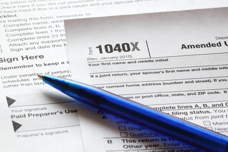 form 1040x: a second chance to get your return right | pdffiller