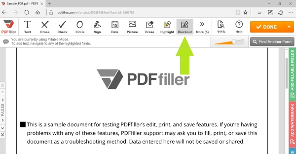How To Pdf From Pdf Filler
