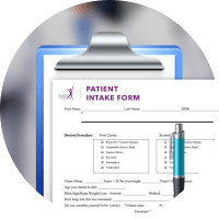 Document with title Patient Intake Forms