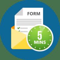 5 min form