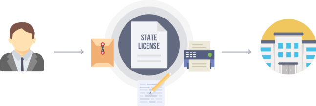 state license diagram