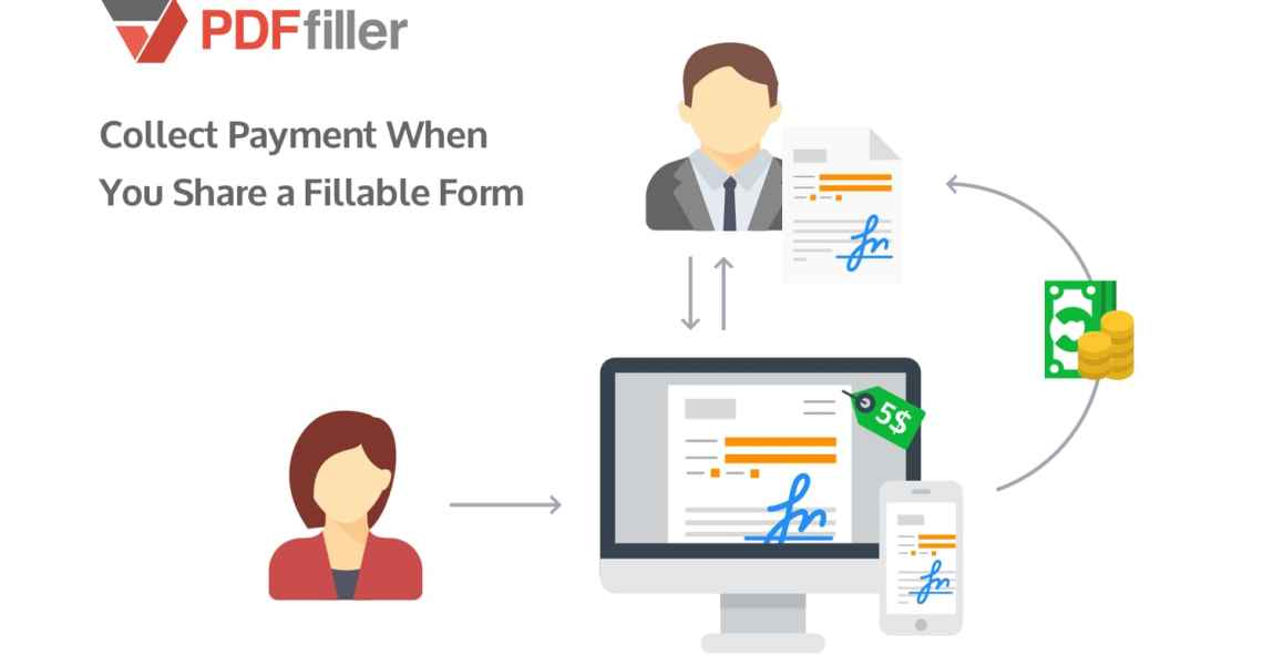 collect payments, digital payments, fillable PDF forms