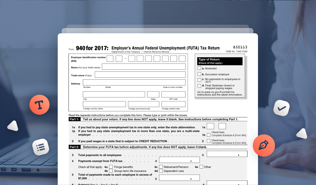 Learn How To File Unemployment Taxes With Irs Form 940