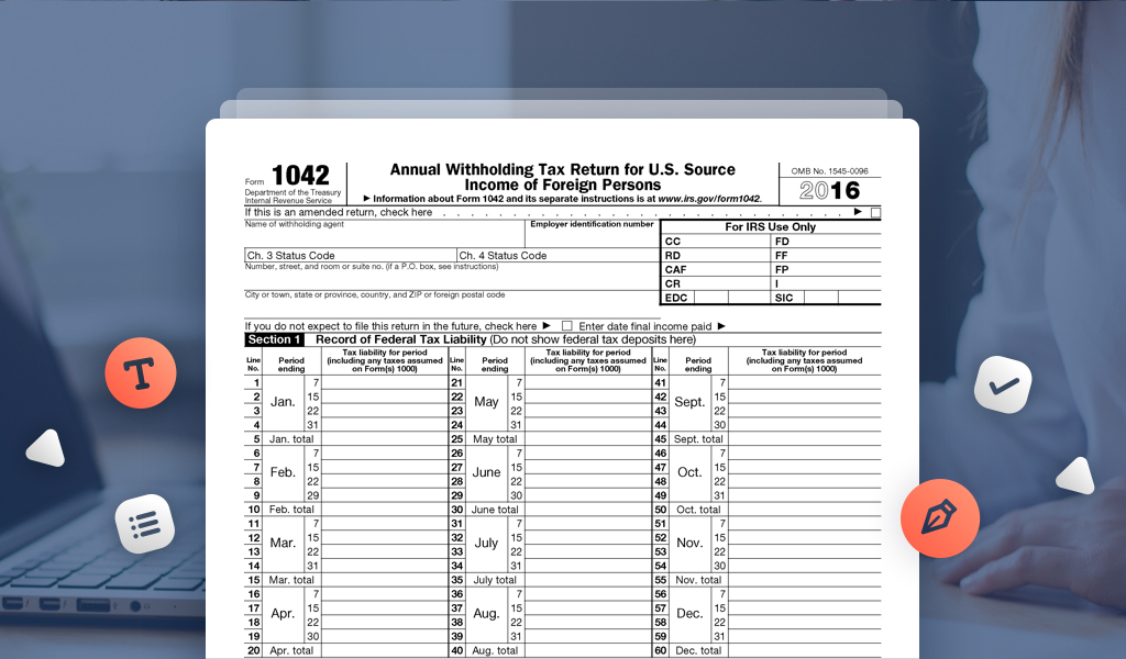 Instructions for IRS Form 1042-S: How to Report Your ...