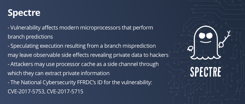 Spectre, Meltdown, processor vulnerabilities, Intel, AMD, protect data,
