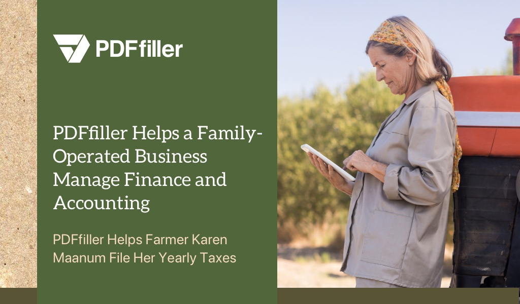 digital workflow solution, PDFfiller, family-operated business, 1099-misc form, file 2018 taxes online, tax filing online