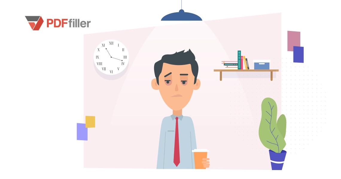work stagnation, team productivity, business psychology, office tips, digital workflow, PDFfiller
