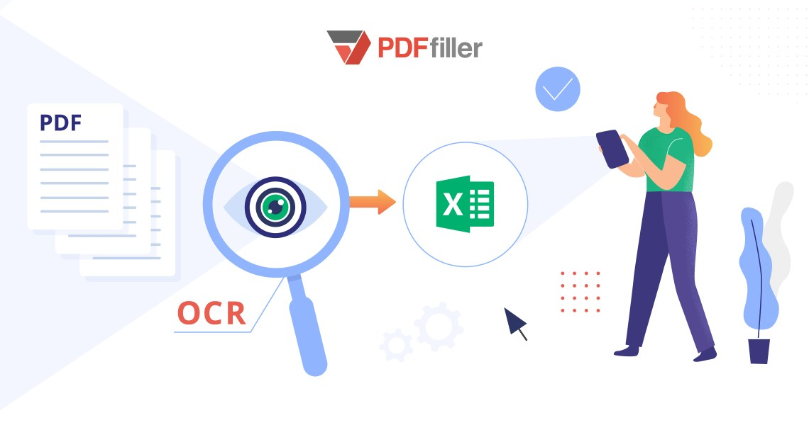 OCR, Optical Character Recognition, OCR software, scan PDF, digital workflow, PDFfiller, extract data, merge PDF