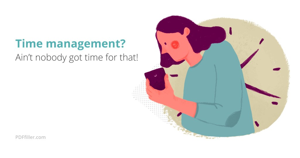 Time-management tools
