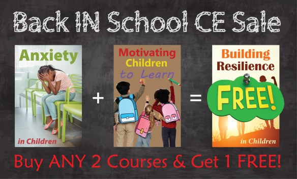 Back IN School Online CE Sale - Buy ANY 2 online courses and get 1 FREE @pdresources.org