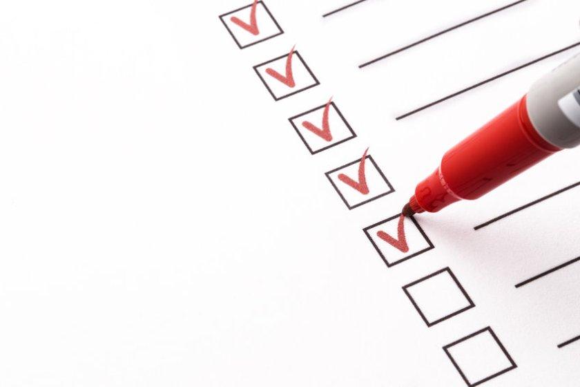 Push To Talk Radio Checklist