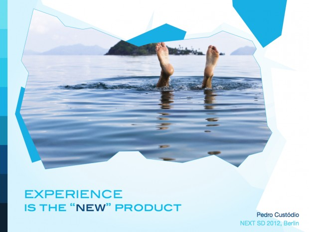 "Experience is the ""new"" product"