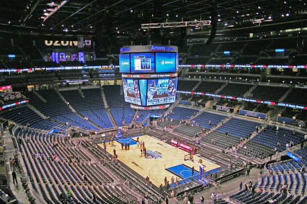 Top Digital Signage Technology in Basketball Arenas