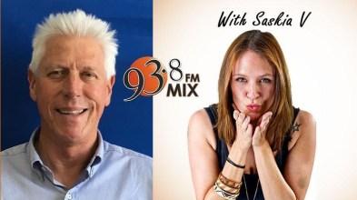 INTERVIEW WITH SASKIA V OF MIX 93.8 FM (17 JANUARY 2018)