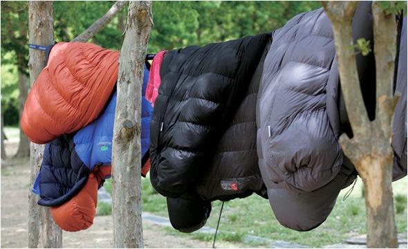 Clean Sleeping bag
