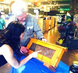 Pat Ryan brings his honeybees to the store