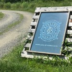 Entrance road to Barefoot Botanicals