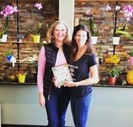 Lisa and author Janice Cox