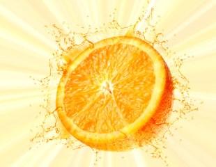 A burst of citrus scent from Sweet Orange