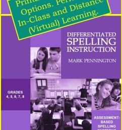 grade 7 spelling program   Pennington Publishing Blog [ 1280 x 720 Pixel ]