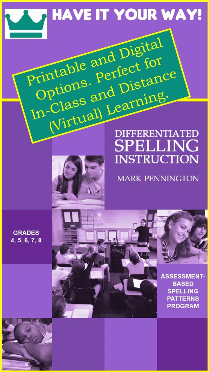 medium resolution of grade 7 spelling program   Pennington Publishing Blog