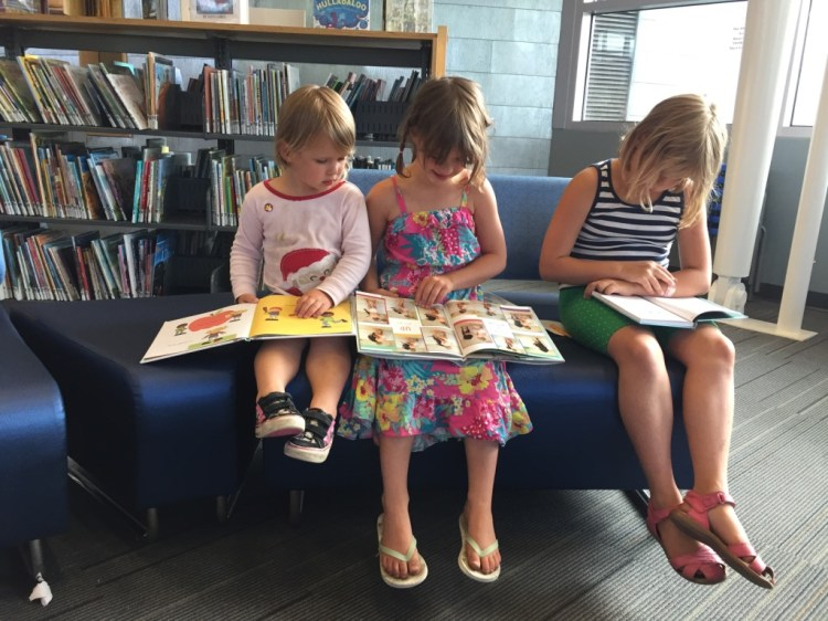 Story time at libraries