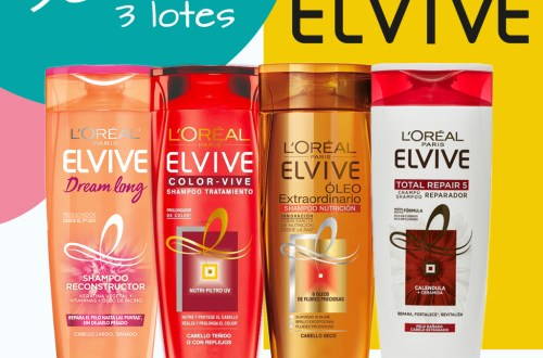 Sorteo Elvive L'Oreal Paris