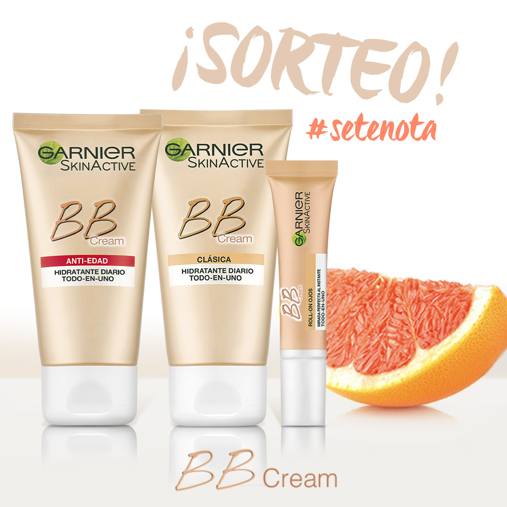 Sorteo BB Cream Garnier
