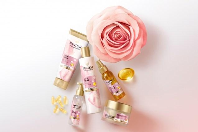 Pantene Pro-V Miracles Volumen& Nutrición con Biotina + Agua de Rosas sin sulfatos Perfumerías Ana