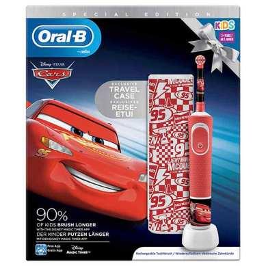 Oral-B Pack Cepillo Vitality Kids Cars + Funda de Viaje + 4 pegatinas Perfumerías Ana