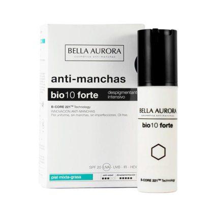Bella Aurora Bio 10 Forte Despigmentante Intensivo Piel Mixta-Grasa 30 ml. Perfumerías Ana