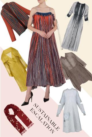 Khadi hand weaved dresses